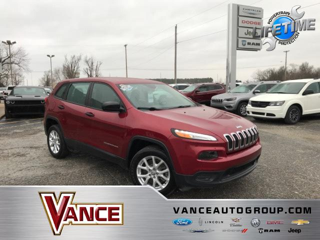 Pre-Owned 2017 Jeep Cherokee Sport FWD