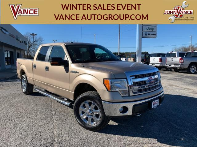 Pre-Owned 2013 Ford F-150 4WD SuperCrew 157 XLT