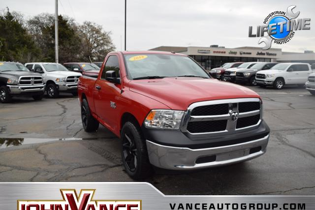 New 2018 RAM 1500 Tradesman 4x2 Reg Cab 6'4 Box