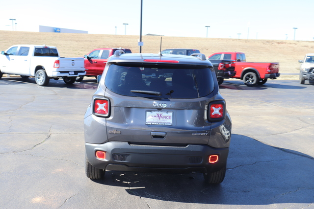 New 2020 JEEP Renegade Sport FWD
