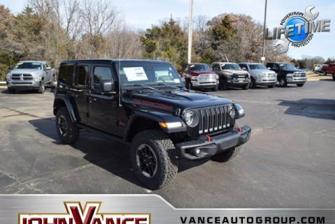 New 2019 JEEP Wrangler Rubicon 4x4