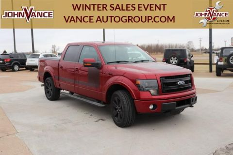 Pre-Owned 2013 Ford F-150 4WD SuperCrew 145 FX4