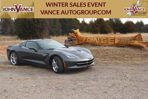 Pre-Owned 2017 Chevrolet Corvette 2dr Stingray Cpe w/1LT