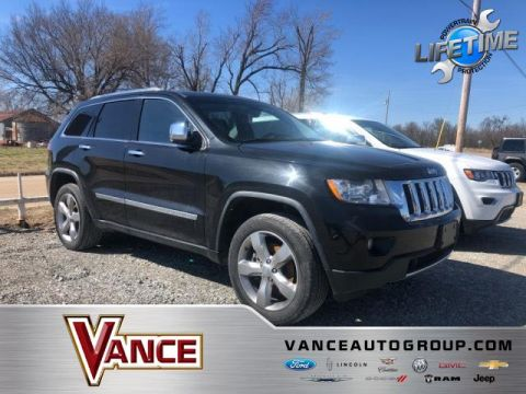 Pre-Owned 2011 Jeep Grand Cherokee 4WD 4dr Overland