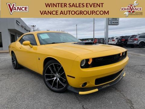 Pre-Owned 2017 Dodge Challenger 392 Hemi Scat Pack Shaker Coupe