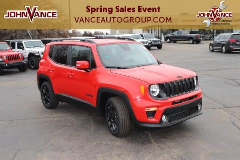 New 2020 JEEP Renegade Altitude FWD